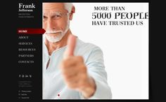 Frank Jefferson Private Lawyer HTML5 Template by Dynamic Template