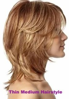10 Woman Easy Medium Hairstyles Ideas suit your face and hair type is to consult with a stylist you trust. Bring along some magazine pictures of styles you like so you can discuss their suitability with your beauty parlor pro. Check here . #mediumhairstyle #thinmediumhairstyle #womanhairstyles Funky Hairstyles For Long Hair, Haircut For Thick Hair, Hairstyles Haircuts, Woman Hairstyles, Layered Hairstyles, Wedding Hairstyles, Medium Shag Haircuts, Long Shag Haircut, Long Hair Older Women