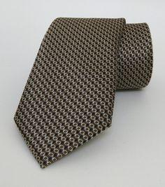 Brown Mens Tie 7,5 cm (2,95 #handmadeatamazon #nazodesign