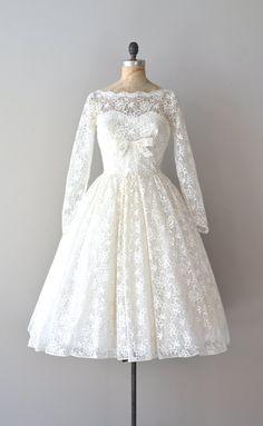 lace 50s Love Like Heaven wedding dress