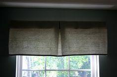 Dropcloth Window Treatments