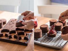Mini Cakes, Cupcake Cakes, Cookie Recipes, Dessert Recipes, Little Cakes, Cake Decorating Tips, Mini Desserts, Cake Cookies, Amazing Cakes