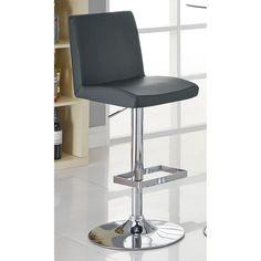 Coaster Furniture 41 in. Armless Adjustable Bar Stool - Set of 2 - COA3120