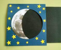 Representación de las fases de la Luna.2. Moon Activities, Ramadan Activities, Space Activities, Science Activities, Science Projects, School Projects, Projects For Kids, Activities For Kids, Crafts For Kids