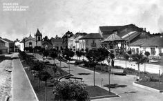"""FOTOS ANTIGAS DE OVAR 004 - Jardim dos Campos - Arquivo do jornal """"JOÃO SEMANA"""" (fundado em 1 de janeiro de 1914). http://artigosjornaljoaosemana.blogspot.pt/"""