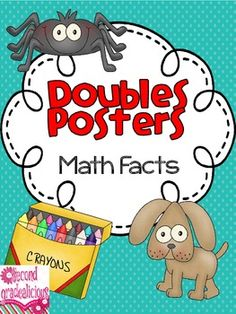 Doubles Posters for Learning Math Facts