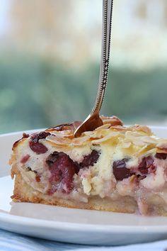 Cherry Marzipan Tart