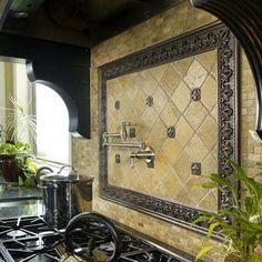 Nice Kitchen Backsplash!  #LGLimitlessDesign and #Contest