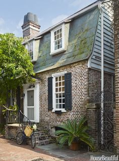 Eclectic Charleston House Tour - Janet Gregg Jewelry Designer House