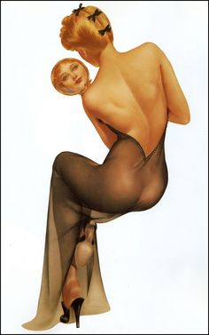 Alberto Vargas Pin-Up Girl