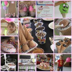 Ice Cream Birthday Party | A Spotted Pony