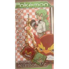 Pokemon Center 2013 N Darmanitan Fastener Accessory Charm