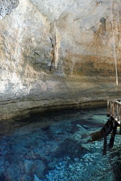 Cenote near Coba Mexico