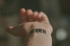 tattoo pequenas codigo de barras - Pesquisa Google