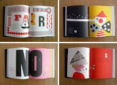 Listen Listen- Paul Rand The typography used in this series of books creates a lot of movement over the page. The eyes are forced to search the entire page, leaving no detail unnoticed. - Hayley Herberger