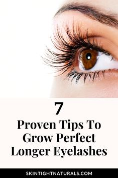 Best DIY eyelash growth serum for natural longer lashes. Want to grow longer more perfect eyelashes and Brows? Are your eyelashes thin, sparse, or barely there? Are you spending valuable time and money on falsies and glue? These simple tips will have you batting your eyes and showing off your longer lashes in no time! #eyelashgrowthserum #eyelashgrowth #eyelashserum #essentialoils #growlashesfast #growlongerlashes #growlashesnaturally