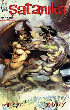 Satanika Comic Books Art, Comic Art, Simon Bisley, Glenn Danzig, Image Title, Manga Comics, Google Images, Graphic Art, Vines