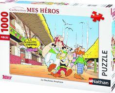 Nathan 87452 - Puzzle (1000 piezas), diseño de Astérix y Obélix: La gala ánfora: Amazon.es: Juguetes y juegos