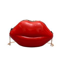 Crossbody Shoulder Bag, Crossbody Bag, Satchel Bag, Lip Shapes, Coin Bag, New Bag, Office Ladies, Ladies Party, Clutch Purse