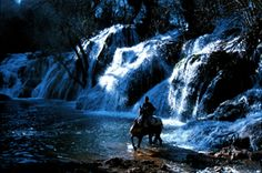 Waterfall near Ifrane, Middle Atlas mountains Morocco. www.asilahventures.com