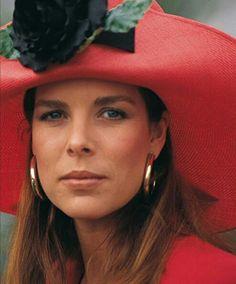CAROLINE -- NICE PICTURE IN HER BIG HAT................ccp