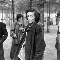 Bergen Belsen, Germany, A female survivor, after the liberation, April 1945.