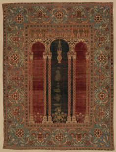 Prayer carpet [Attributed to Bursa or Istanbul, Turkey] (22.100.51) | Heilbrunn Timeline of Art History | The Metropolitan Museum of Art