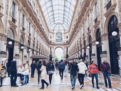 Apart from being Europe's fashion mecca, Milan is edgy in every sense. Galleria Vittorio Emanuele Ii, Mecca, New Age, Travel Guide, Milan, Louvre, Street View, Europe, Fashion