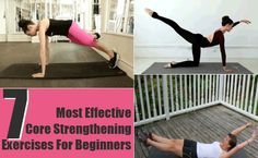 7 Best And Most Effective Core Strengthening Exercises For Beginners