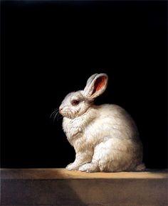Patricia Traub   (b.1947)  —   Rabbit, 2011   (730x900)