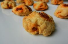 Cookies apéro parmesan/chorizo