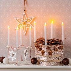 Die schönsten Bastelideen für  Advent und Weihnachten