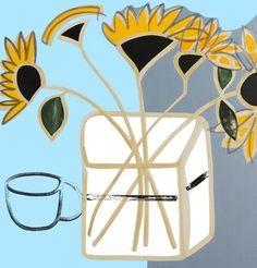 Jessica  Cooper RWA - new york sunflowers