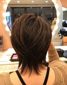 ideas haircut for long hair thin ideas - - ideas haircut for long hair thin ideas hair Ideen Haarschnitt für langes Haar dünne Ideen Short Shag Hairstyles, Short Layered Haircuts, Haircuts For Long Hair, 60s Hairstyles, Layered Hairstyles, Hairstyle Short, Medium Hair Cuts, Short Hair Cuts, Medium Hair Styles