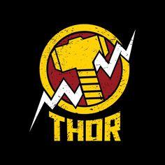 Thor Hammer T-Shirt | Buy Marvel Merch | The Souled Store