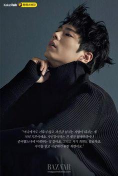 박보검 < 바자 2015년 11월 >