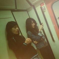 #casual photo @ metro de Madrid