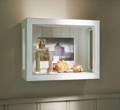 Wall display shadow box frame.
