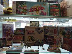 Retrogame Shop Paris Zelda collection (1/3)
