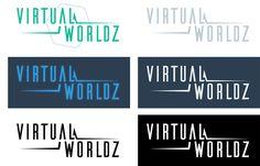 Virtual Worldz logo design on Behance