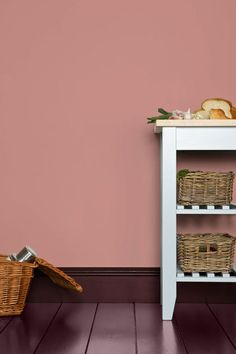 Cinder Rose by Farrow & Ball is a wildly romantic rose pink paint colour available at Tonic Living in Toronto Farrow Ball, Farrow And Ball Paint, Farrow And Ball Living Room, Farrow And Ball Kitchen, Cinder Rose Farrow And Ball, Lounge, Murs Roses, Rose Bedroom, Pink Paint Colors