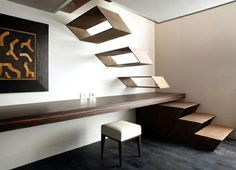 Guido Ciompi Floating Staircase