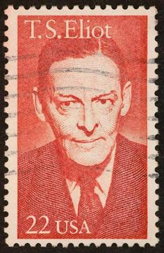 T. S. Eliot stamp