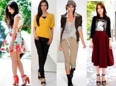 Popular Classifications of Women Fashion Styles
