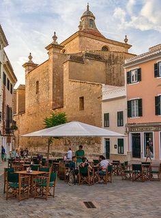 Evening in Mahon, Menorca Spain