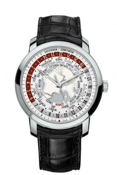 Vacheron Constantin Patrimony Traditionnelle World Time Only Watch 2013