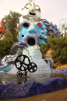 Tarot Gardens in Capalbio - by Niki de Saint Phalle