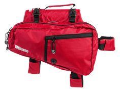 Mochila/Alforja para Perros Ultimate Trail Pack Roja -LaTiendaDeFrida