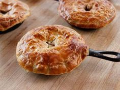 """Beef Pot Pies (Never Enough Puff) - """"The Pioneer Woman"""", Ree Drummond on the Food Network."""