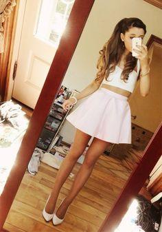 love this outfit! Ariana Grande